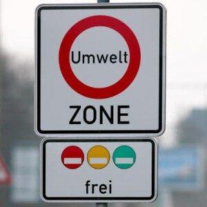 「環境ゾーン表式」とドイツの道路(ロータリー式)